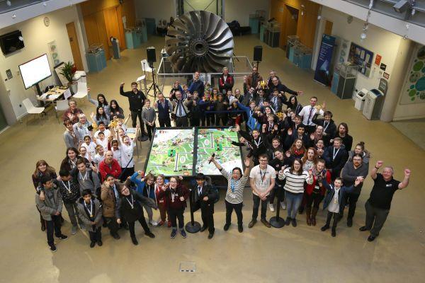 CDT students judge Nottingham Lego tournament