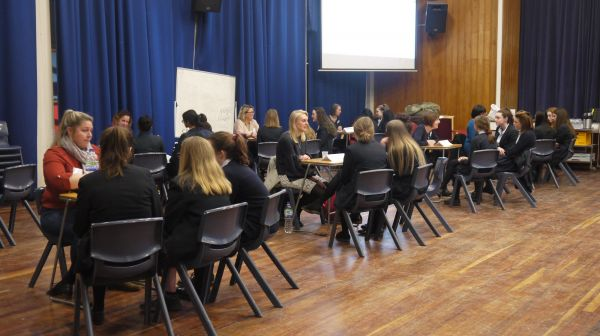 Career Speed Dating at Rugby School